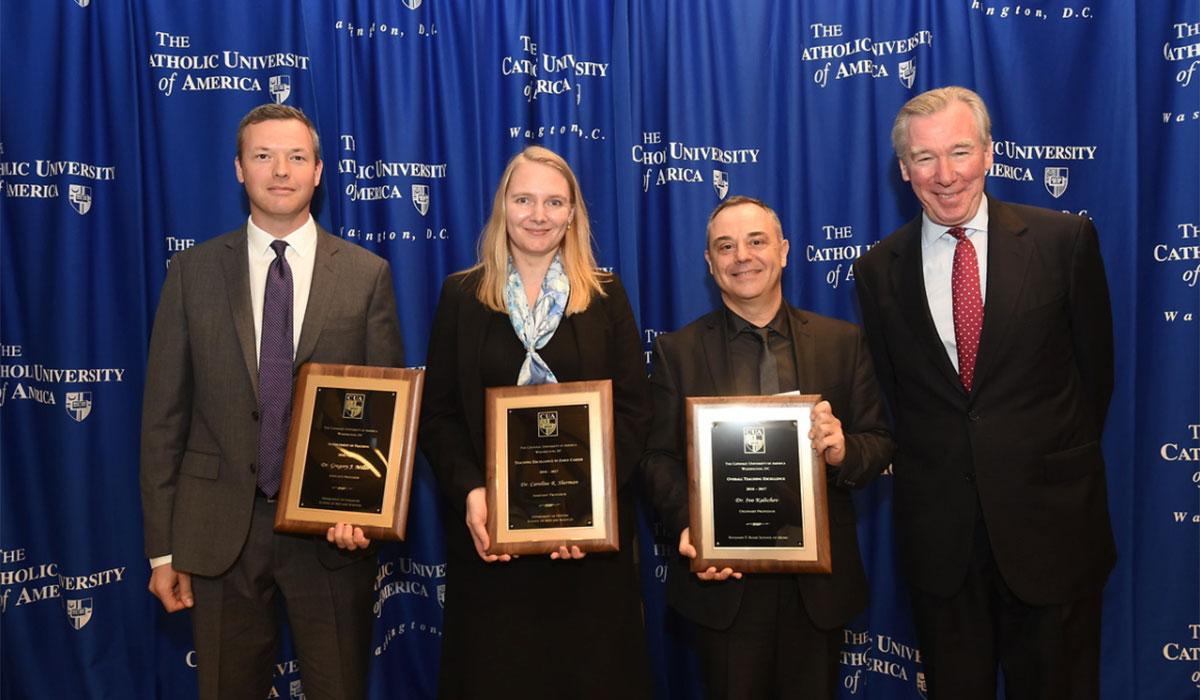 Awarded Faculty