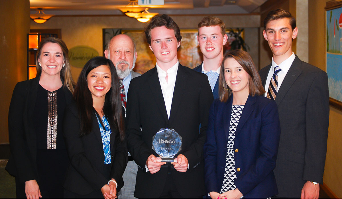 Students with the awards