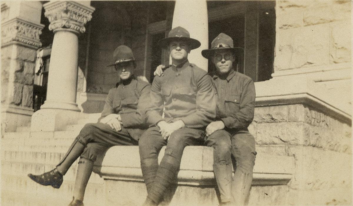 World War I students