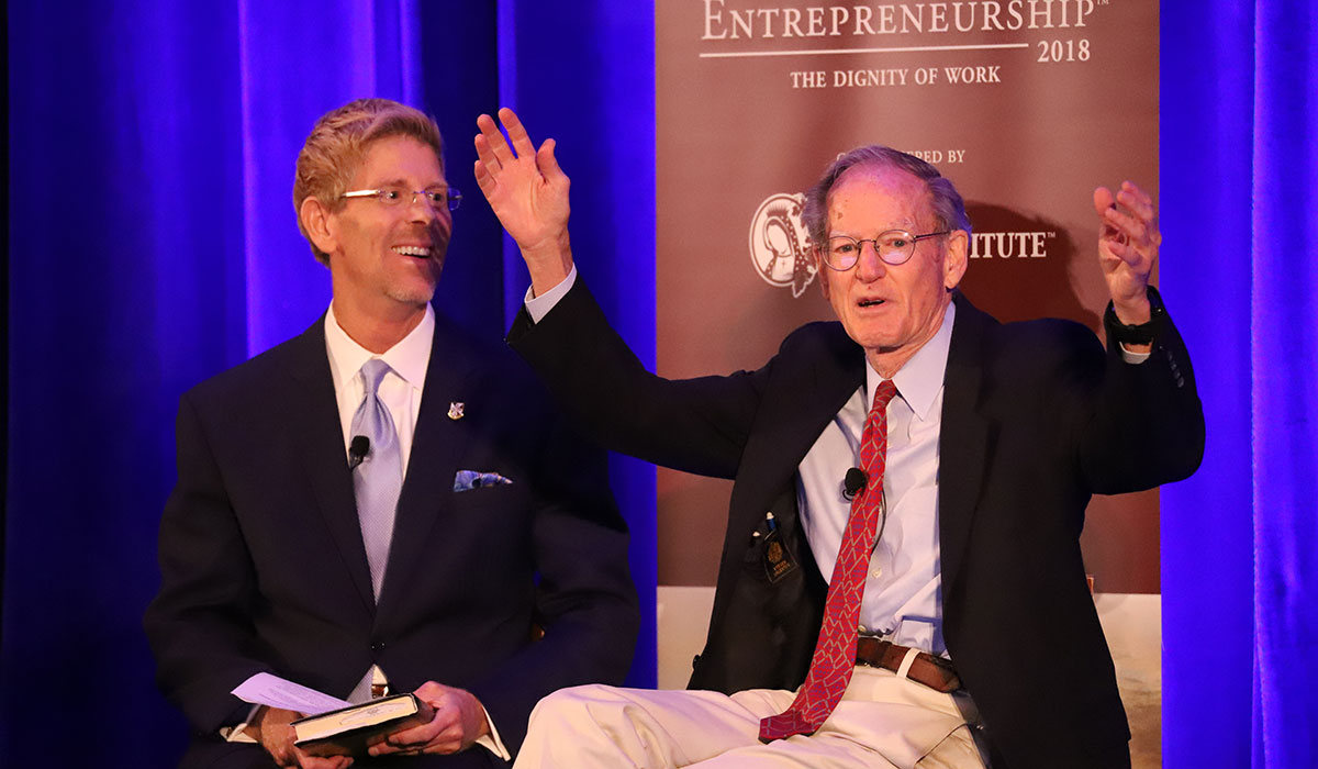 Jay Richards and George Gilder