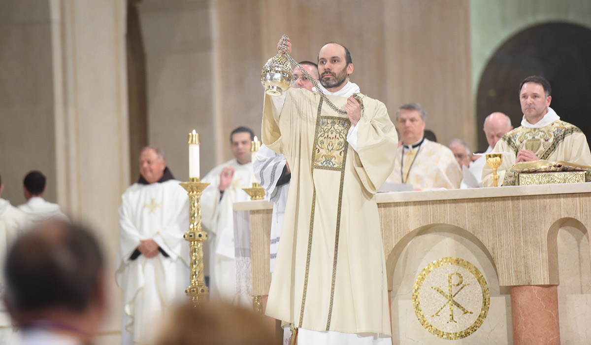 St. Thomas Aquinas Mass in 2018