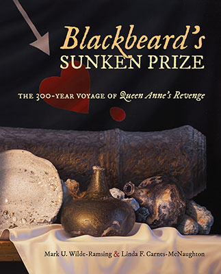 Cover of book about Blackbeard's shipwreck