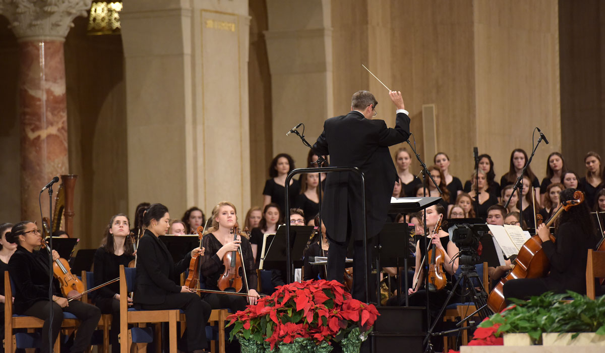 30th Annual Christmas Concert Pays Tribute to Former Professor/Composer