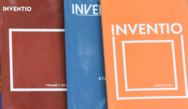Inventio journal covers