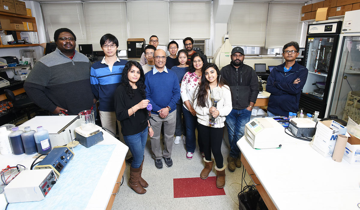 Venigalla Rao and his research team