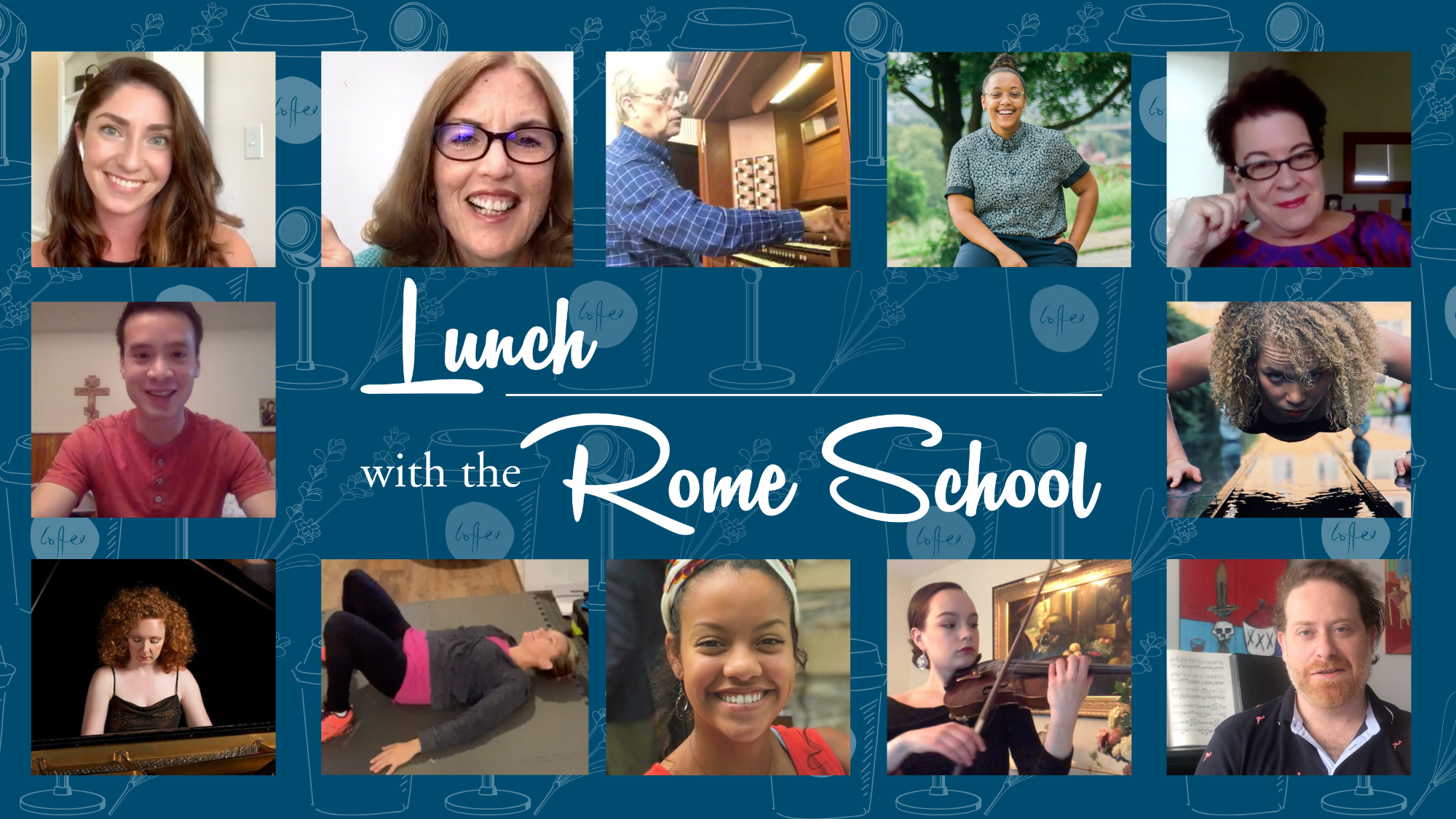 Lunch with the Rome School