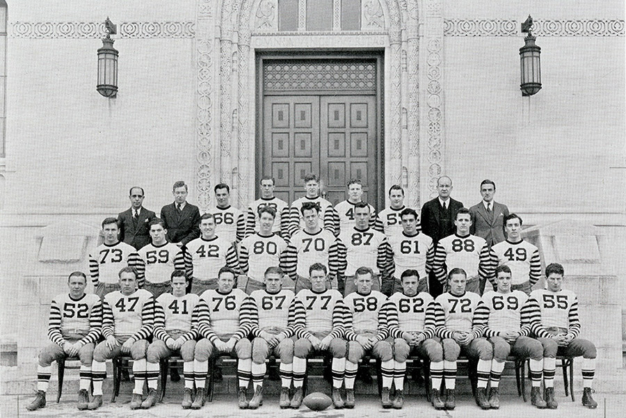 The 1936 Catholic University Football team
