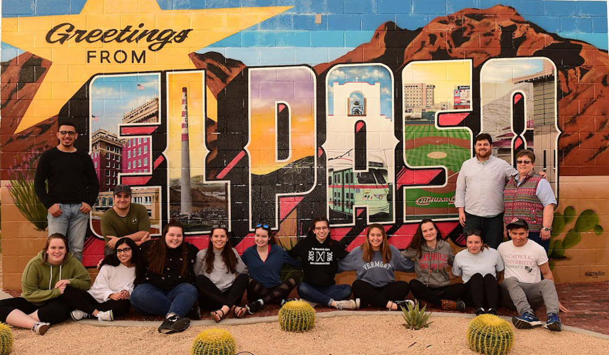 students in El Paso