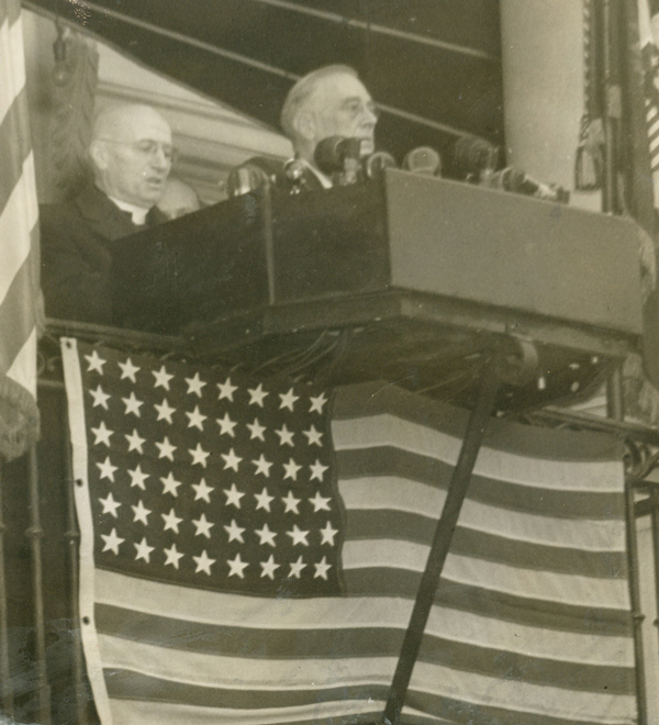 Fr. Ryan with FDR