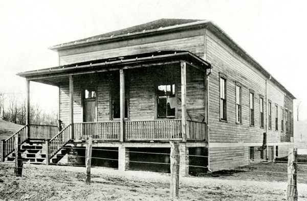 Building that housed the first wind tunnel