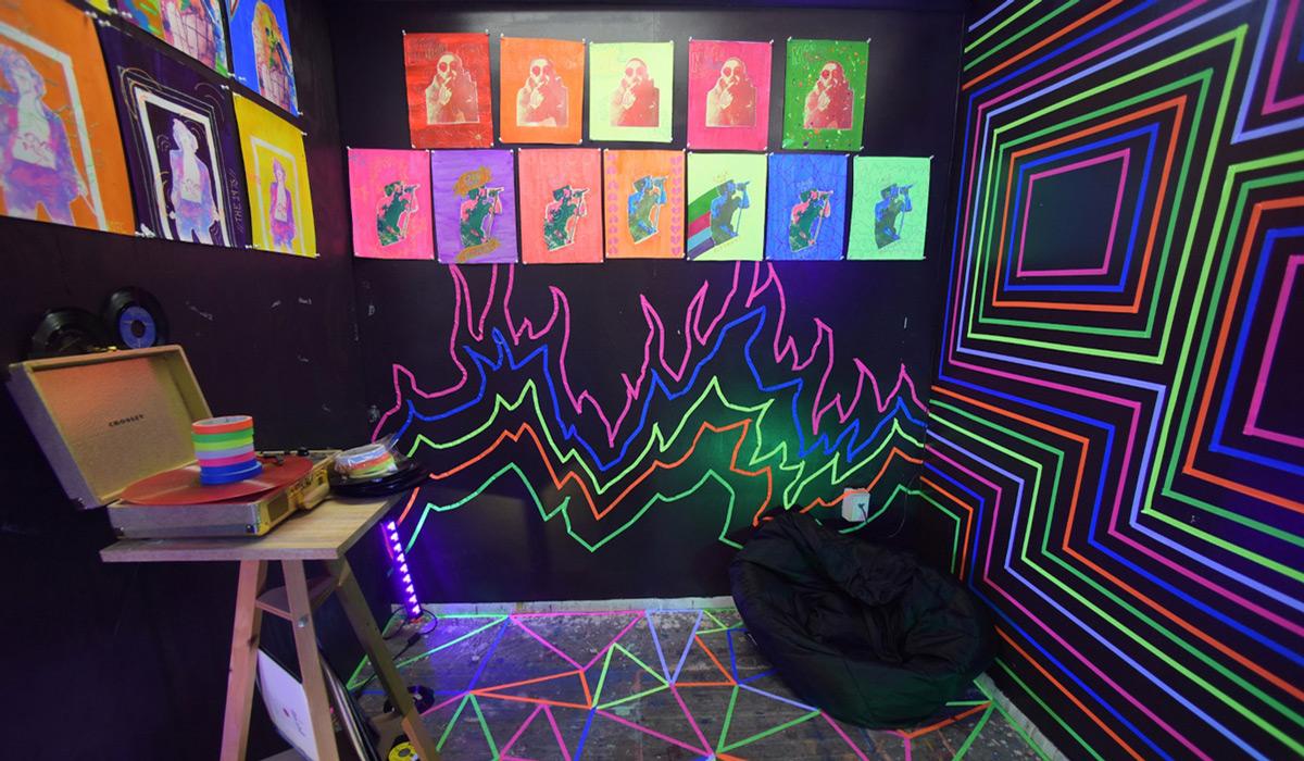 Senior Art Exhibit Opens for All