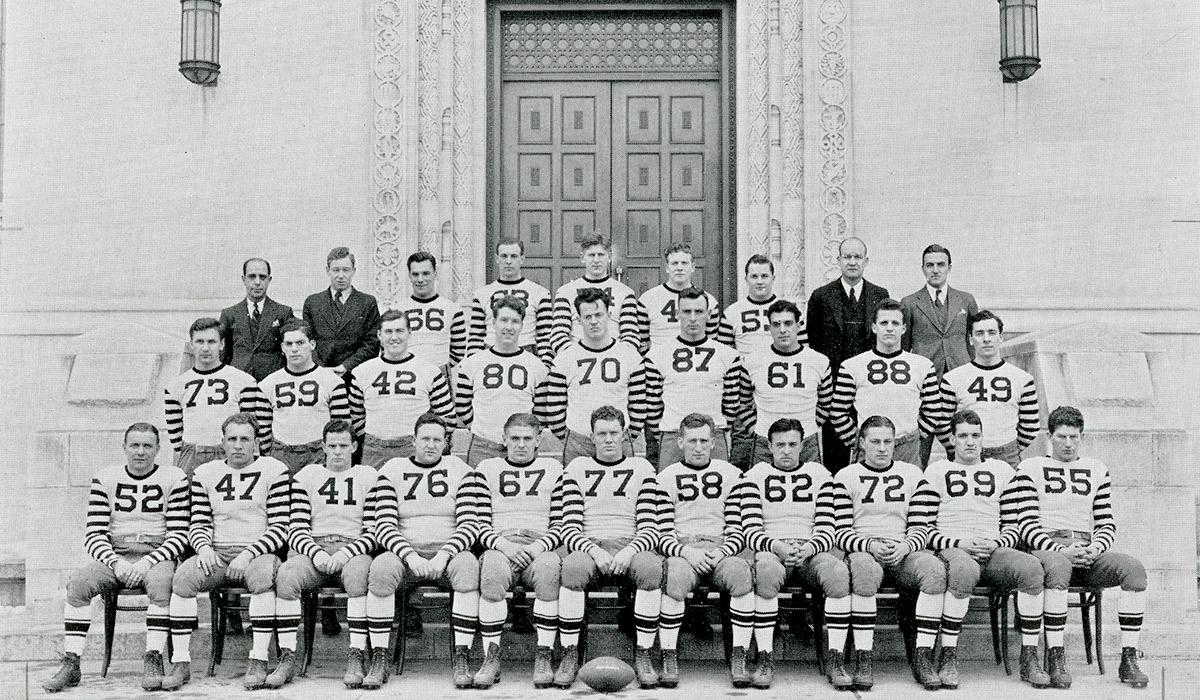 The 1936 Catholic University Football team